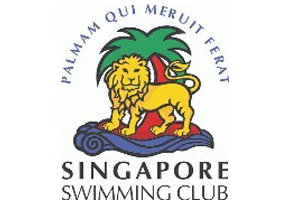 Singapore swimming club logo