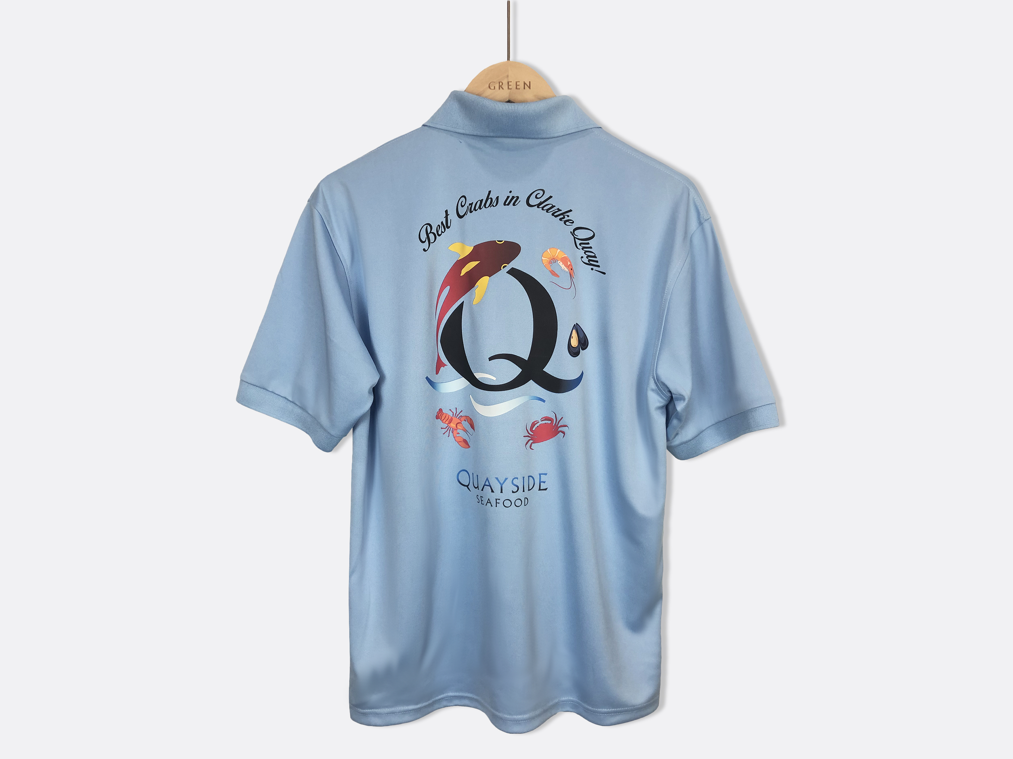 Quayside Seafood Singapore T-Shirt