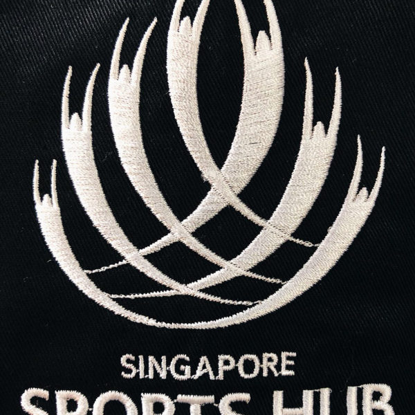 Singapore Sports Hub Logo Embroidery