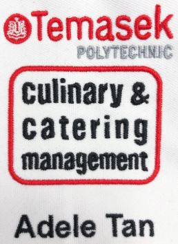 Temasek Poly Culinary Logo Embroidery