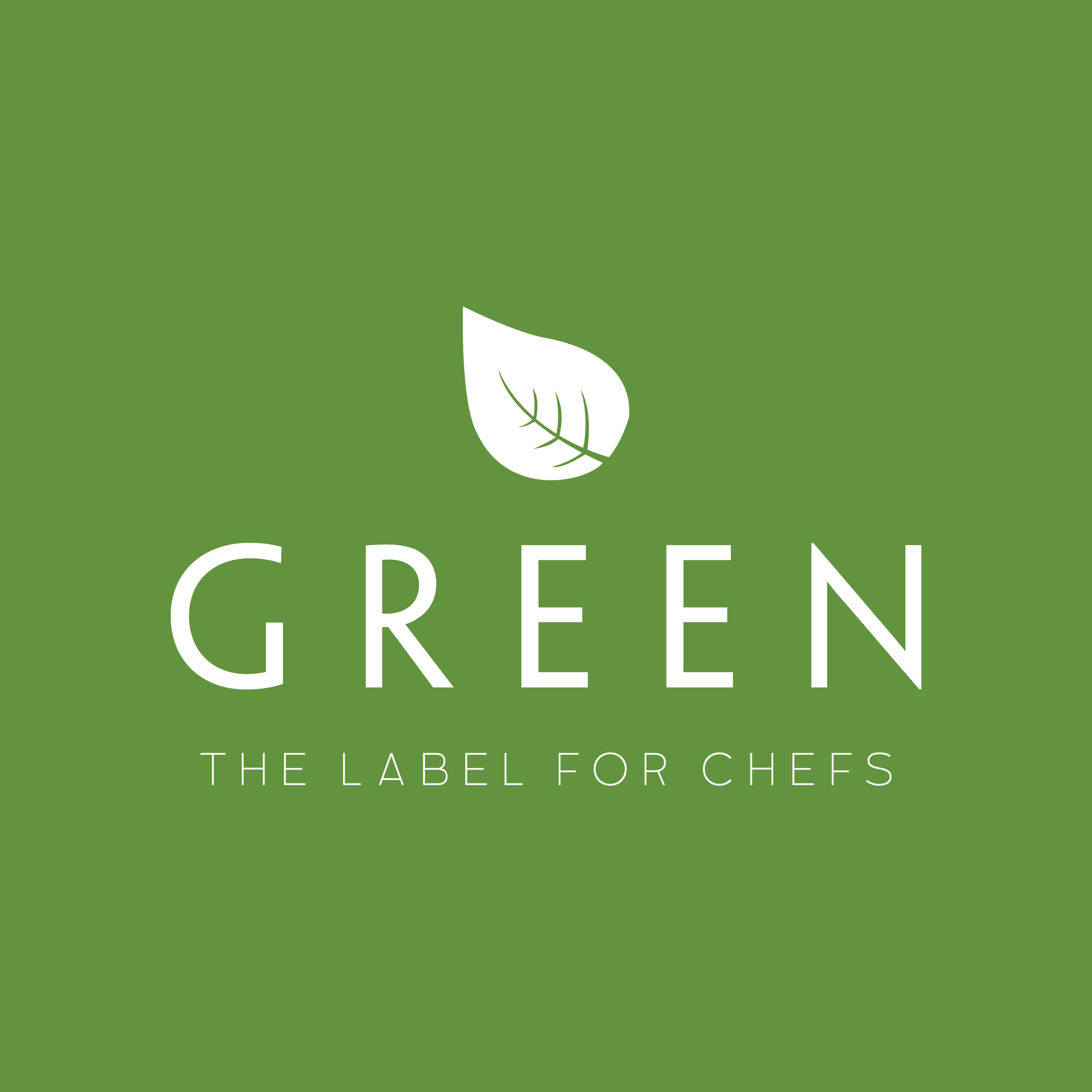 Green-The label for chefs Logo