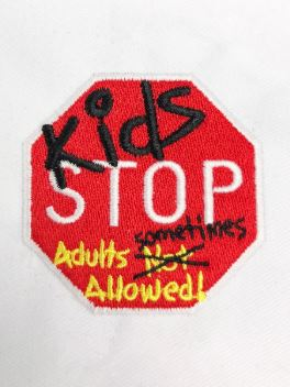 Singapore Science Centre Kids Stop Logo Embroidery